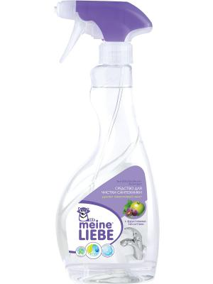 Средство для чистки сантехники ванн, раковин, душевых кабин, 500мл MEINE LIEBE. Цвет: прозрачный