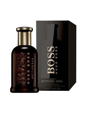 Парфюмерная вода  Hugo Boss Bottled Oud 100 мл. Цвет: прозрачный