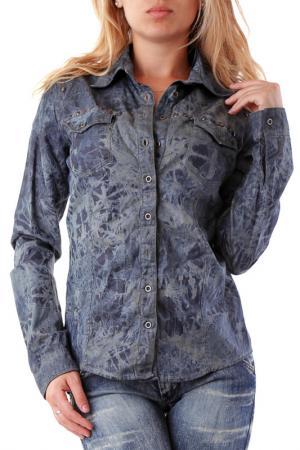 Рубашка Sexy Woman. Цвет: серый