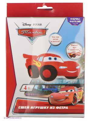 Сшей игрушку  Тачки : Маквин с пищалкой внутри Фабрика Фантазий. Цвет: красный