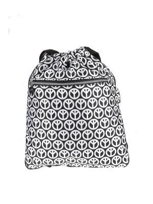 Рюкзак Happy Charms Family. Цвет: черный, белый