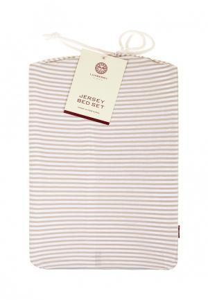 Комплект постельного белья 1,5-спальный Luxberry. Цвет: разноцветный