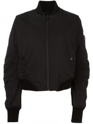 Куртка-бомбер Barbara I Gongini. Цвет: чёрный