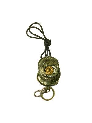 Ключница из кожи питона Aria Дерево Счастья. Цвет: золотистый