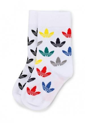 Комплект носков 2 пары adidas Originals. Цвет: белый