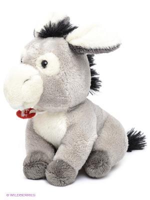 Мягкая игрушка TRUDI. Цвет: светло-серый, черный