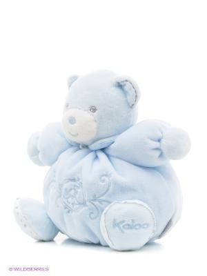 Мишка маленький голубой, коллекция Жемчуг Kaloo. Цвет: голубой