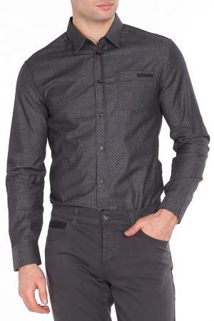 Рубашка Dirk Bikkembergs. Цвет: 0035, gray/black