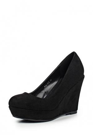 Туфли Max Shoes. Цвет: черный