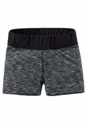 Шорты Kangaroos. Цвет: серый/черный меланжевый