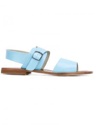 Single buckle sandal Daniela Gregis. Цвет: синий