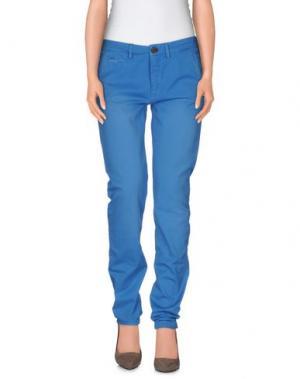 Повседневные брюки VINTAGE 55. Цвет: лазурный