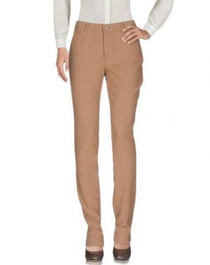 Повседневные брюки CALALUNA. Цвет: верблюжий