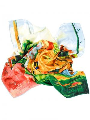 Платок Piero. Цвет: оранжевый