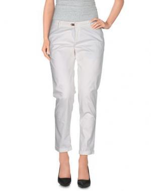 Повседневные брюки JFOUR. Цвет: белый