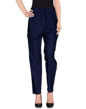 Повседневные брюки LES PRAIRIES DE PARIS. Цвет: темно-синий