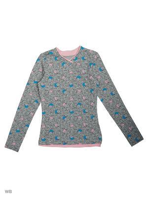 Пуловер ВАЛЕНТИНА СТИЛЬ. Цвет: серый