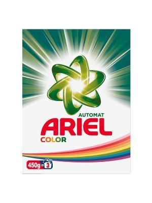 Стиральный порошок Автомат, Color 450г. Ariel. Цвет: белый, зеленый
