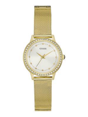 Часы GUESS. Цвет: золотистый