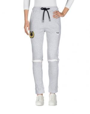 Повседневные брюки NICOPANDA. Цвет: серый