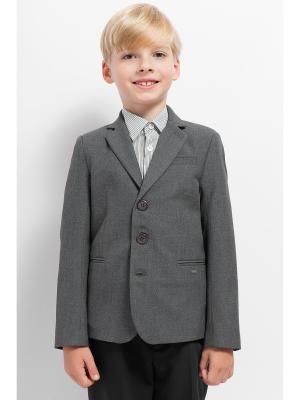 Пиджак Finn Flare. Цвет: антрацитовый