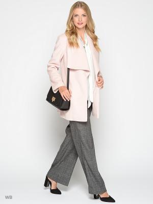 Пальто Stets. Цвет: бледно-розовый