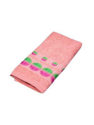 Полотенце Migura. Цвет: оранжевый,розовый,зеленый