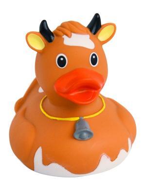 Уточка корова коричневая ВЕСЕЛЫЕ УТИ-ПУТИ. Цвет: коричневый