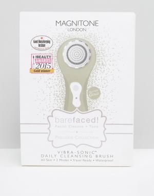 Magnitone Золотистая электрическая щетка для ежедневного ухода за лицом Magniton. Цвет: бесцветный