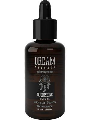 Масло для бороды питательное NOURISHING BEARD OIL DREAM CATСHER. Цвет: прозрачный