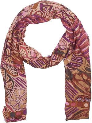 Платок Eleganzza. Цвет: бордовый, фиолетовый