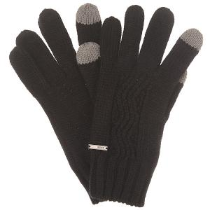 Перчатки женские  Stay J Glov True Black Roxy. Цвет: черный