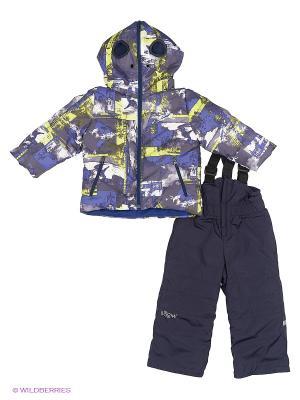Комплект одежды BOOM. Цвет: серо-голубой, серый