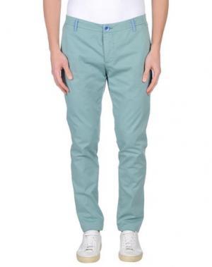 Повседневные брюки DIMATTIA. Цвет: светло-зеленый