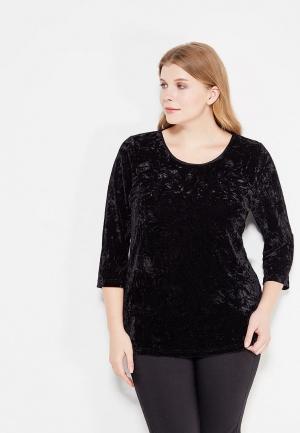 Блуза Emoi Size Plus. Цвет: черный