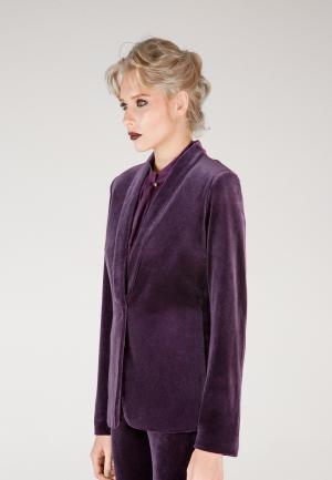 Пиджак Виреле. Цвет: фиолетовый