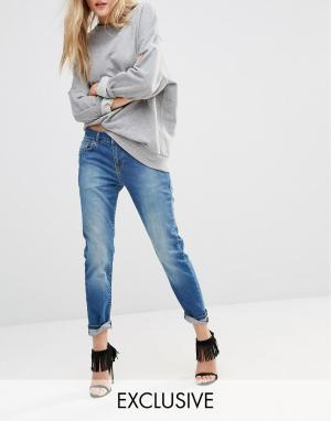 Northmore Denim Классические джинсы бойфренда. Цвет: синий