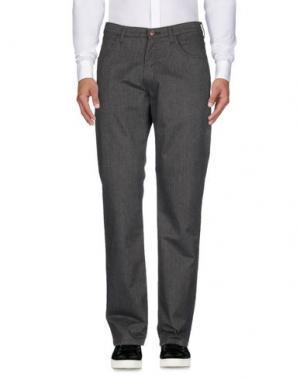 Повседневные брюки WRANGLER. Цвет: стальной серый