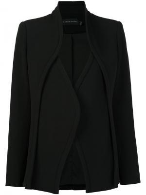 Многослойный пиджак Brandon Maxwell. Цвет: чёрный