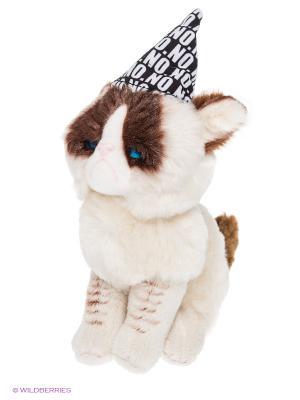 Игрушка мягкая (Grumpy Cat Birthday Beanbag, 12,5 см). Gund. Цвет: бежевый