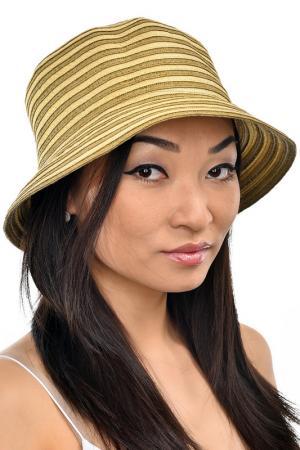 Шляпа Tonak. Цвет: кофейный, золотой