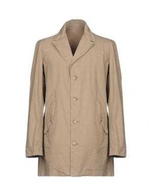 Легкое пальто TRU TRUSSARDI. Цвет: песочный