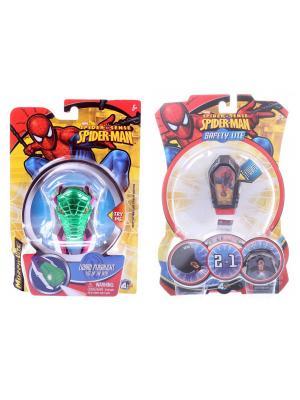 Набор Spider Man: Игрушка-фонарик в форме любимого героя + Фонарик с зажимом  Я всегда тобой Marvel. Цвет: зеленый, голубой, красный