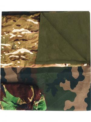 Камуфляжный платок Pierre-Louis Mascia. Цвет: зелёный