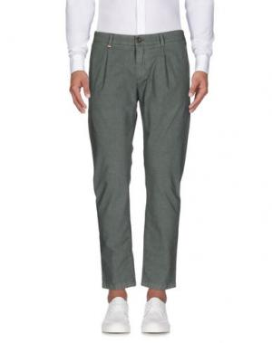 Повседневные брюки AR AND J. Цвет: зеленый-милитари