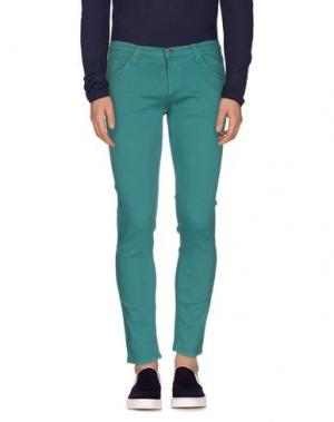 Джинсовые брюки MINIMAL. Цвет: зеленый