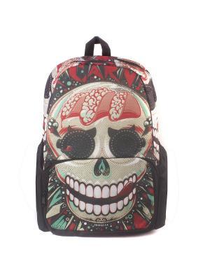 Рюкзак Роджер-Клоун 3D Bags. Цвет: черный, зеленый, красный