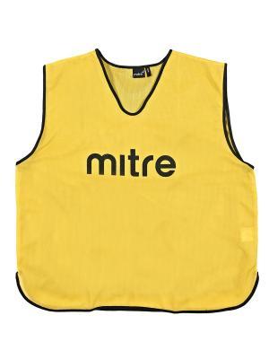 Накидка тренировочная MITRE. Цвет: желтый