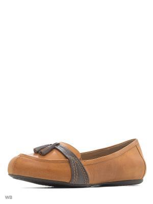 Балетки Softwalk. Цвет: коричневый