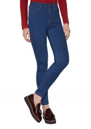 Брюки джинсовые Concept Club. Цвет: синий (индиго)